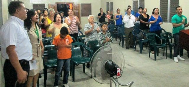 Honduras congregation
