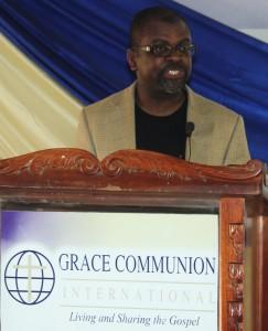 Gabriel preaching