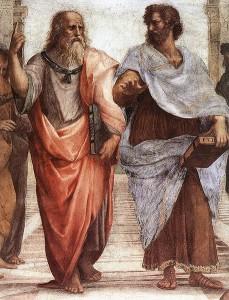 Plato and Aristotle (Wikimedia)