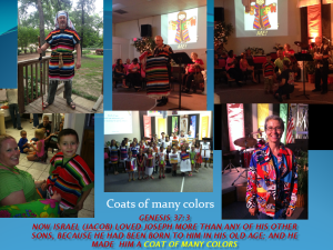 VBS coats of many colors