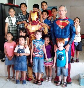 Visiting children's home