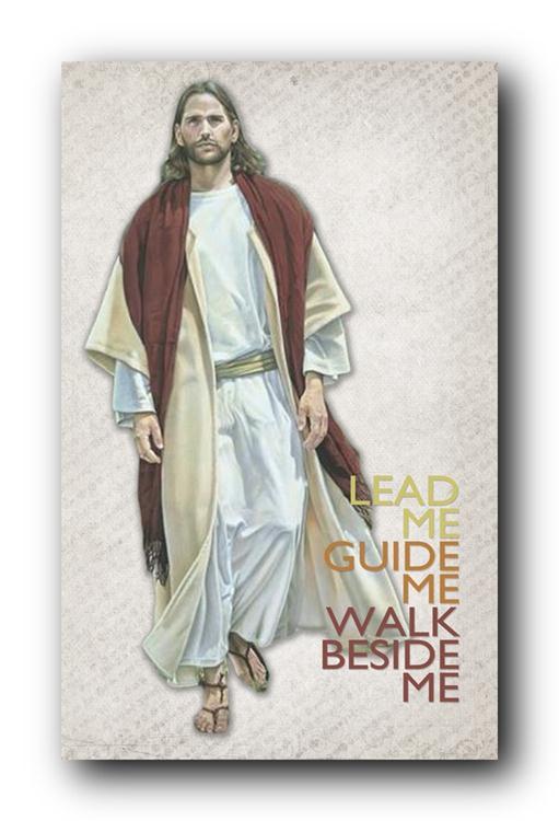 Jesus leading