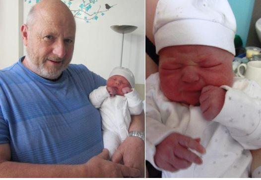 Grandpa and baby Ryan