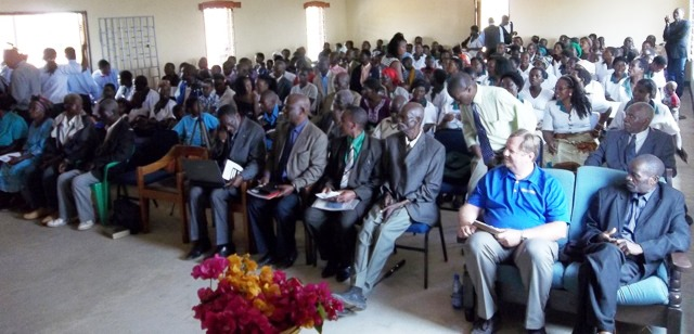 Malawi dedication service