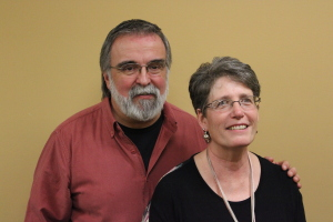 Tim Sitterley (associate regional pastor) and his wife Linda