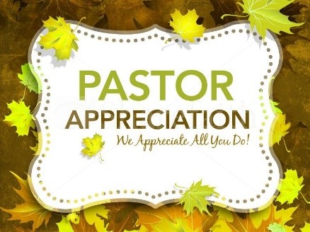 pastor appreciation