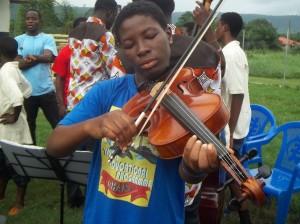 Ghana music appreciation class