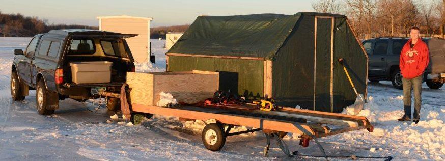 Snowblast 3 (fishing tent)