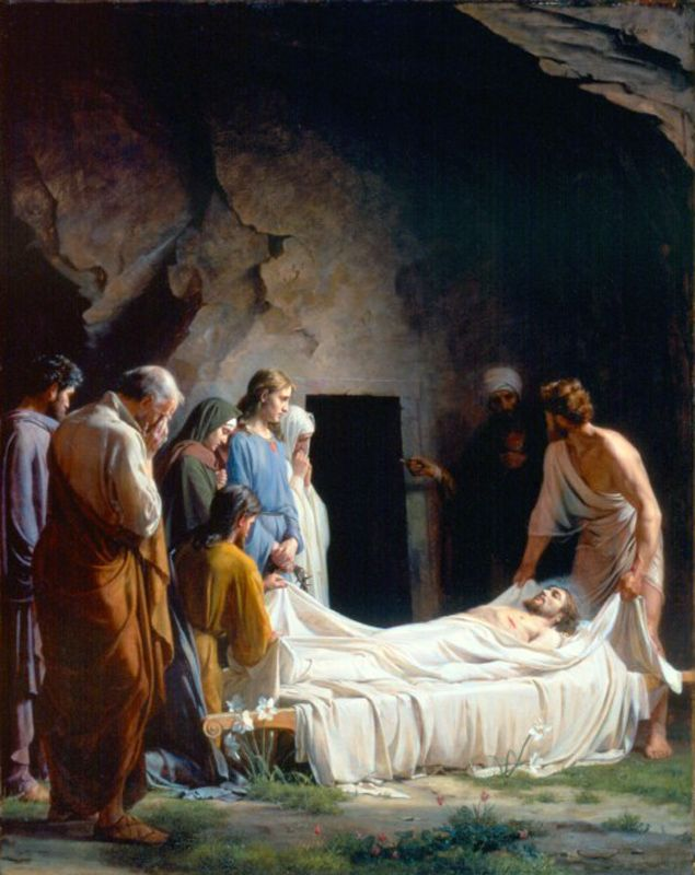 The Burial of Christ Carl Heinrich Bloch