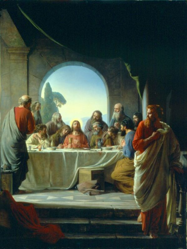 The last Supper Carl Heinrich Bloch
