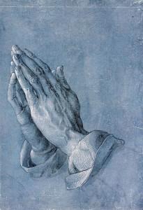 ''Praying Hands''  by Albrecht Dürer, Public Domain via Wikimedia Commons