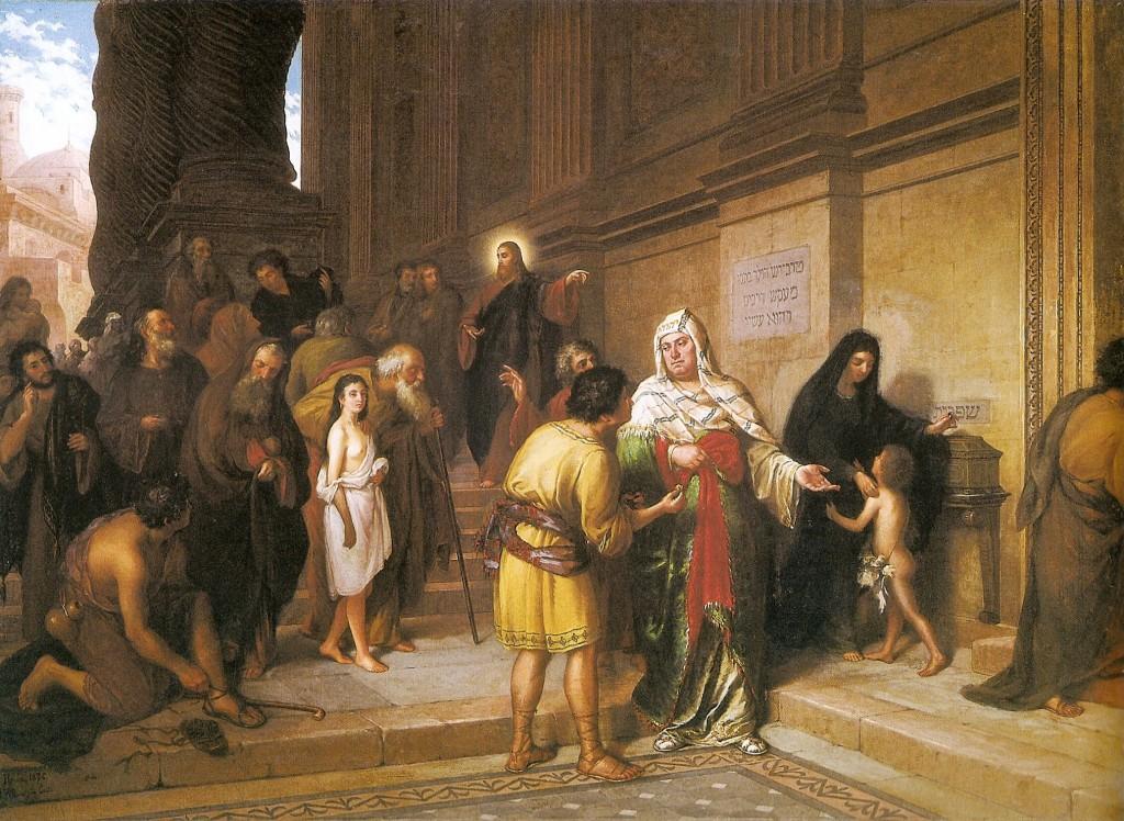 João Zeferino da Costa - O óbolo da viúva, 1876.jpg