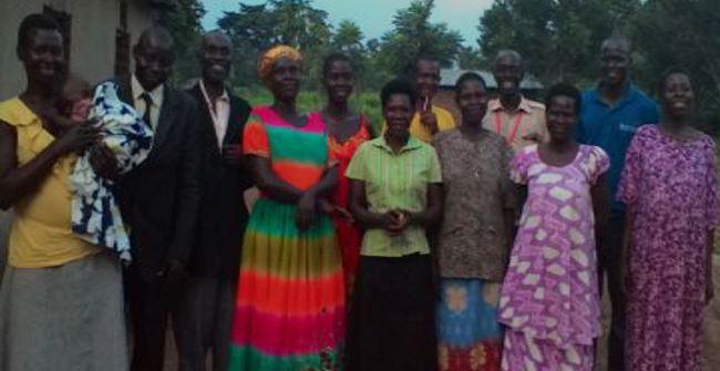 Lira congregation leadership team