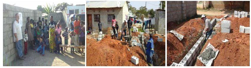 Zambian church construction