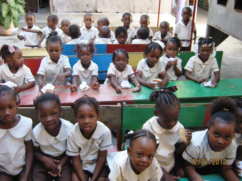 Haitian-school-children