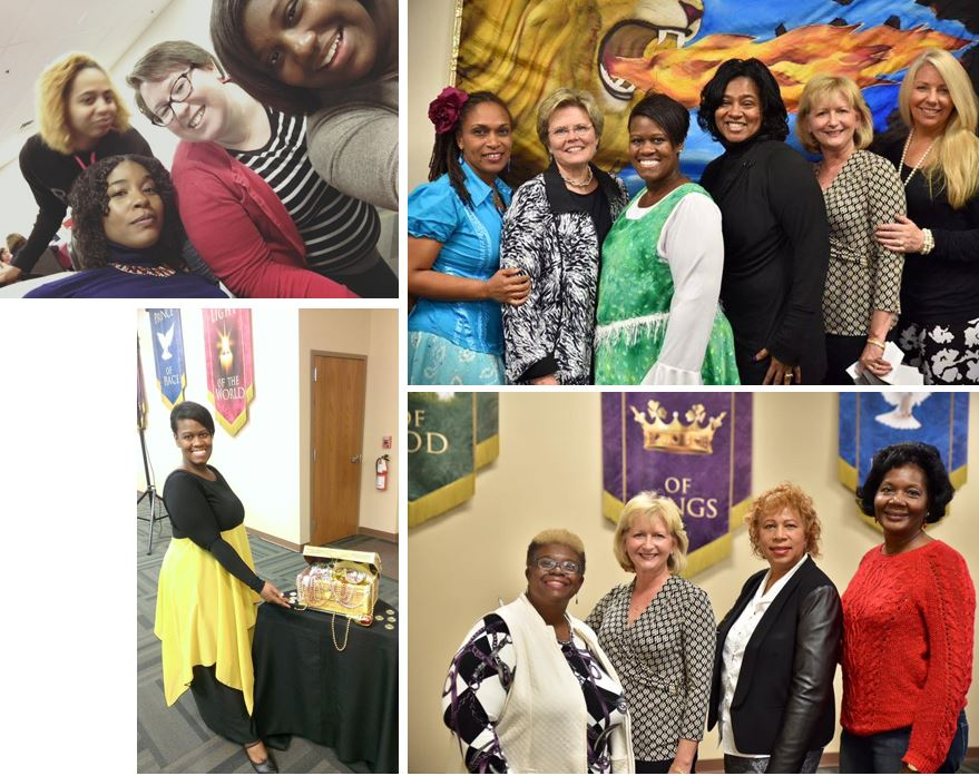 women conference collage