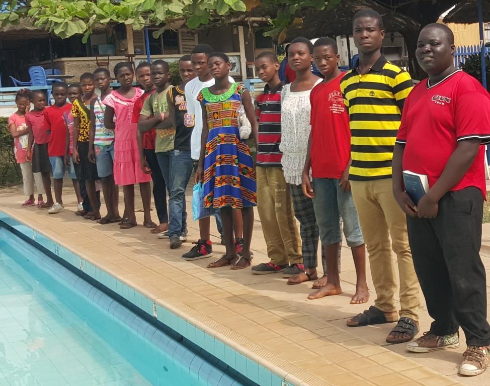 Ghana baptism