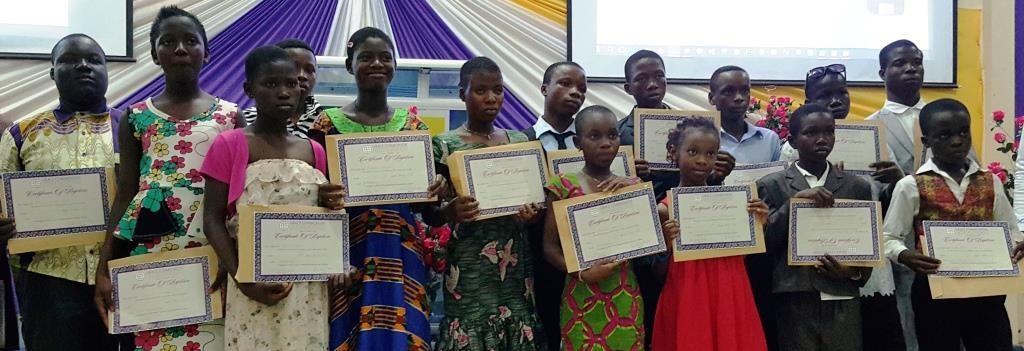 Ghana certificates awarded