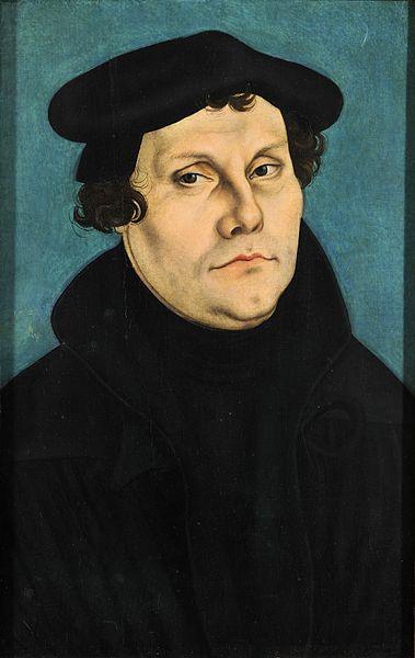 Martin Luther (public domain via Wikimedia Commons)