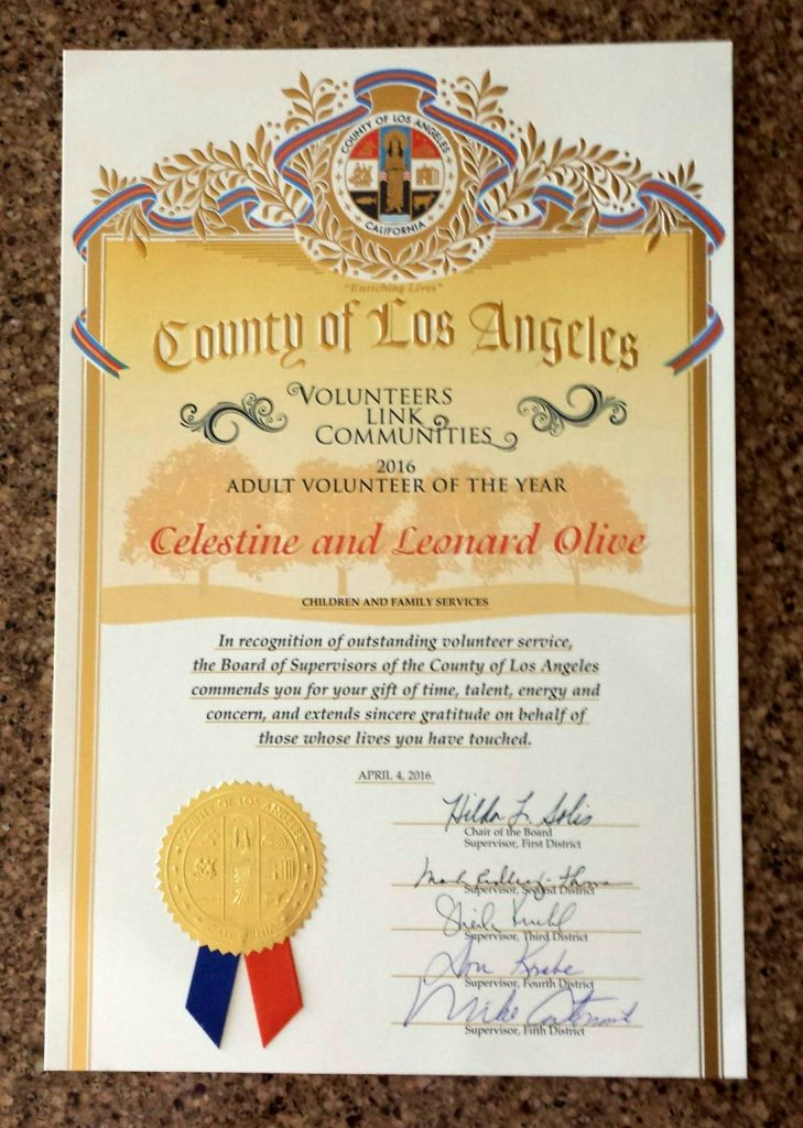 Celestine award2