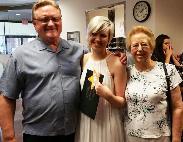 David, Courtney and Adrienne