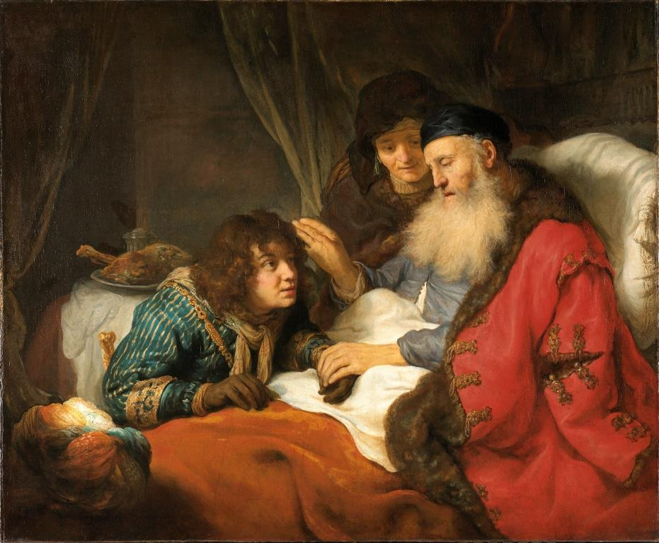 Isaac blessing Jacob by Flinck