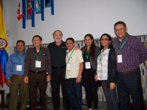 Joseph Tkach with others at the Latin American Conference