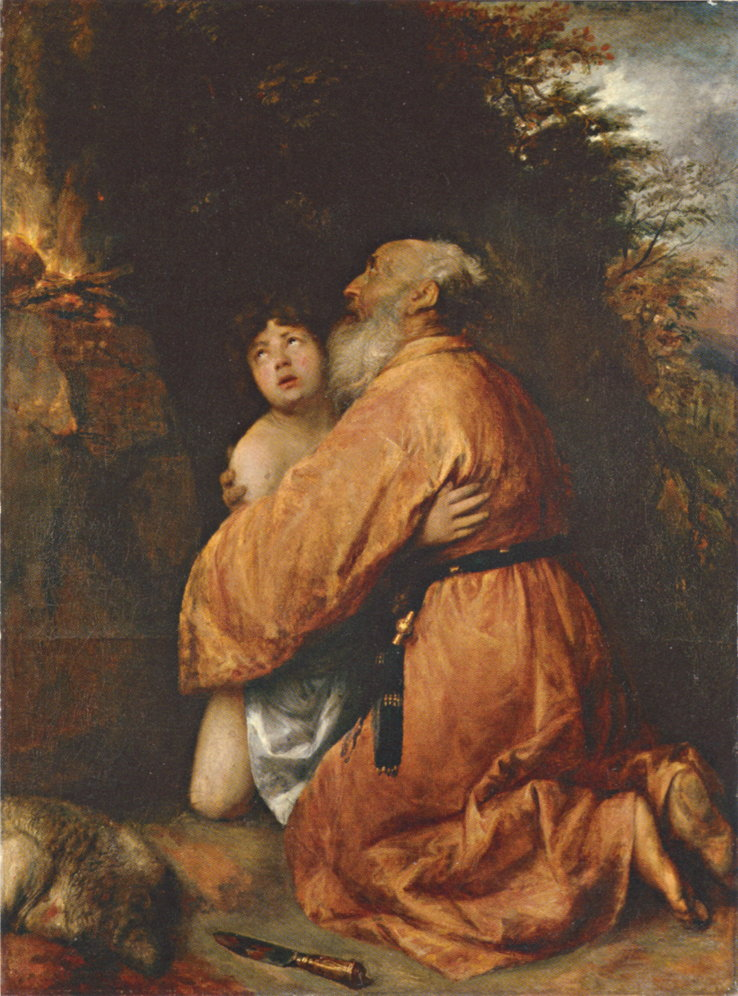 Abraham and Isaac by Jan Lievens (public domain)