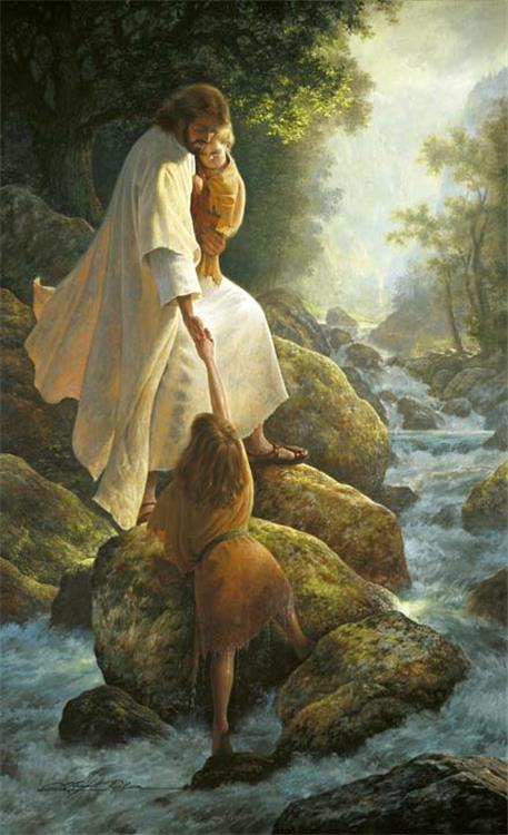 Be Not Afraid by Greg Olsen (used with permission)