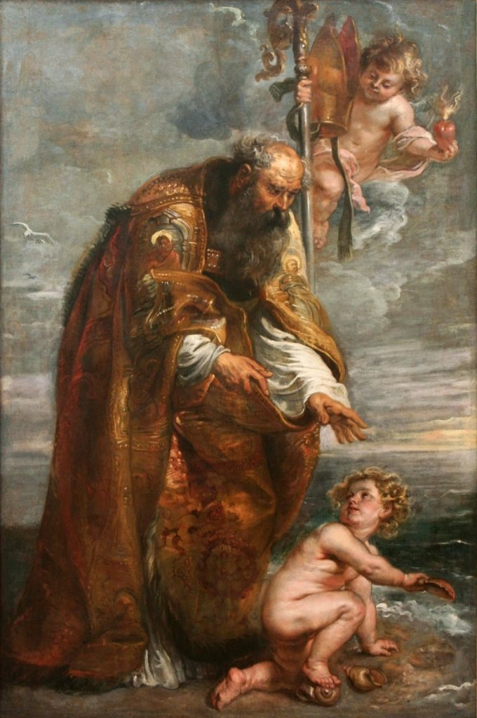 St. Augustine by Peter Paul Rubens (public domain)