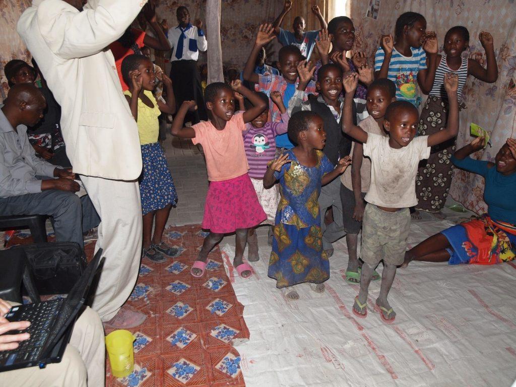 children-at-katima-mulilo-church
