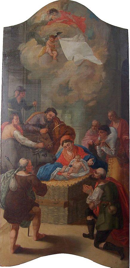 Birth of Jesus by Hajdudorog (public domain via Wikimedia Commons)