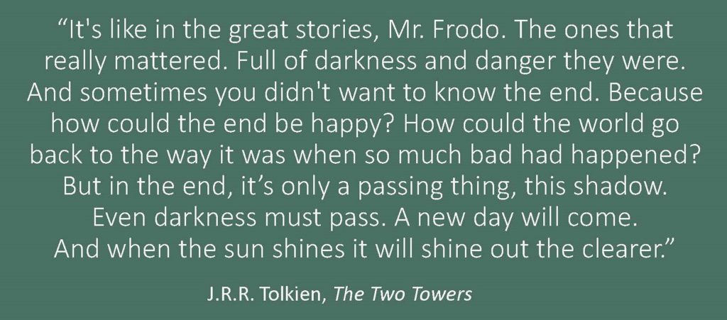 Jrr Tolkien Quotes About Life Unique J.r.rtolkien Hints Of The Incarnation » Gci Update
