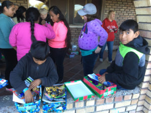 Crossing Borders Shoe boxes at Juanita