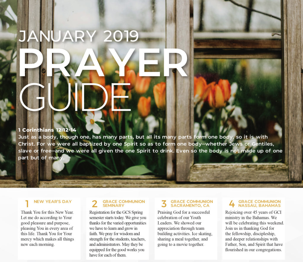 Prayer Guide 2019 January Thumbnail