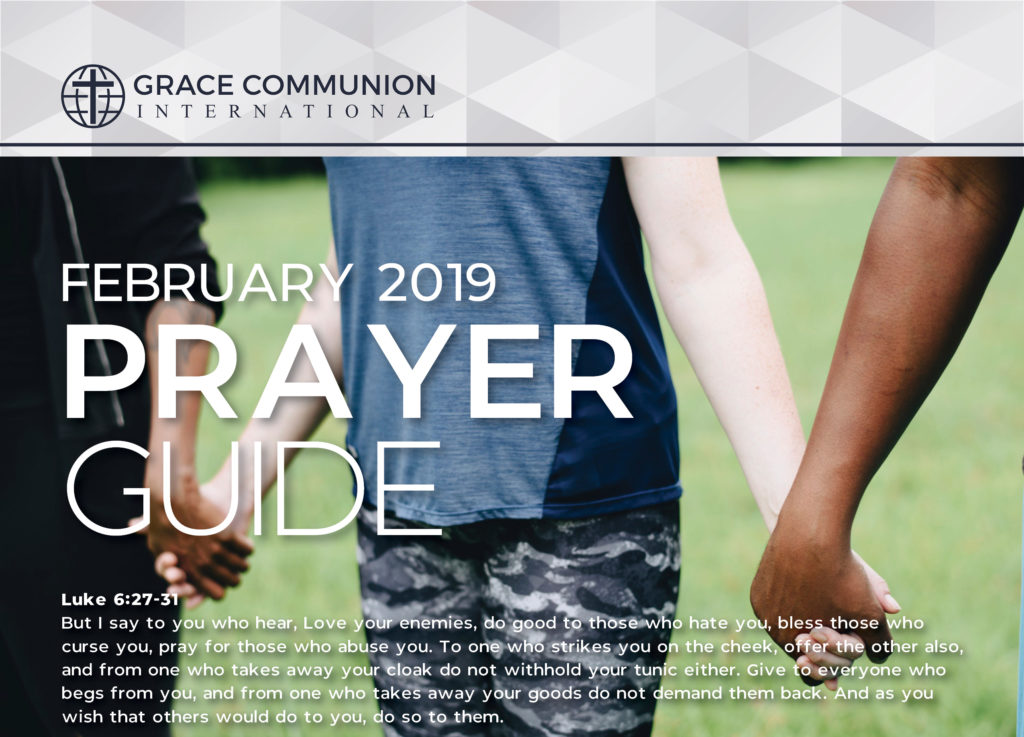 Prayer Guide 2019 February Preview