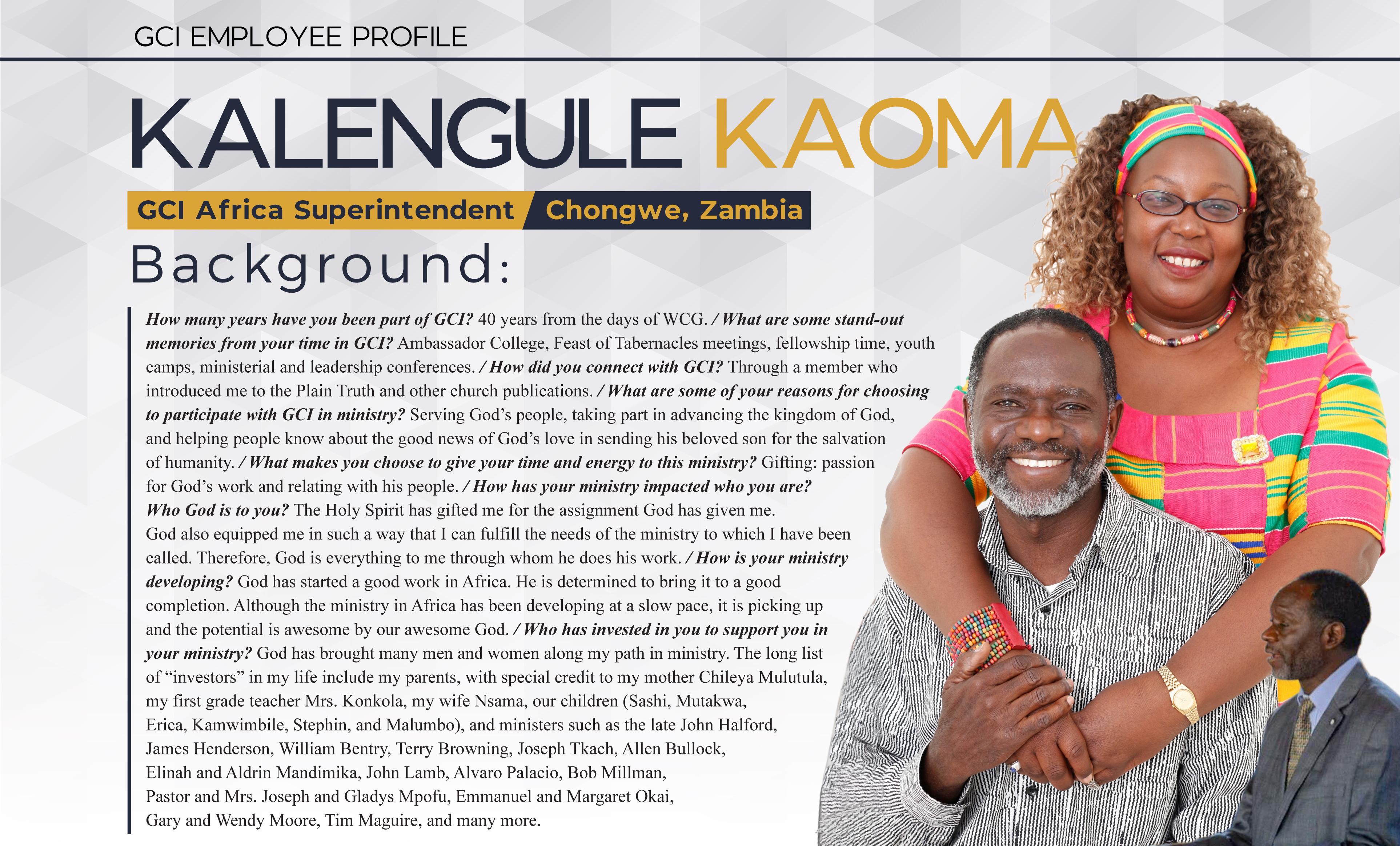Kalengule Kaoma Profile