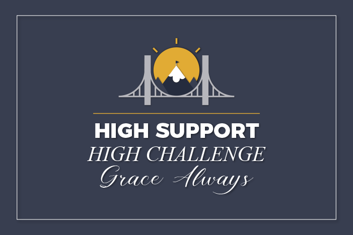 High Support, High Challenge – Grace Always!