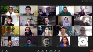 Screenshot of GCIgnite participants