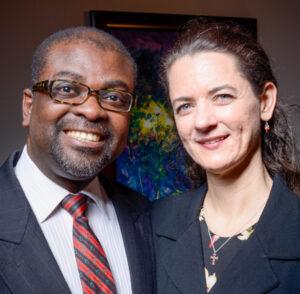 Gabriel and Christine Ojih