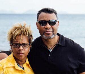 Tracy and Rita Winborne