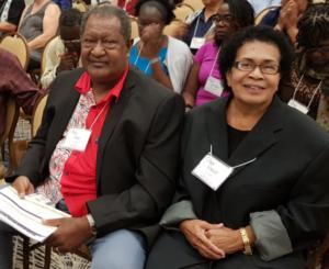 Isei and Vasiti Colati at the 2017 Orlando FL GCI Denominational Conference.