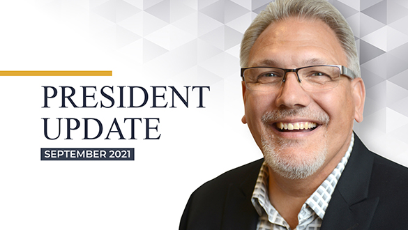 President's Video: Faith Forward and Transitions